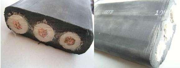 UGEFPT类似GKFB型港口用高压行车起重设备扁平橡套软电缆