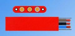 YGCB-L加钢丝型耐热硅橡套扁平软电缆