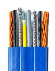热塑弹性耐曲挠扁平控缆 供应热塑弹性耐曲挠扁平控缆