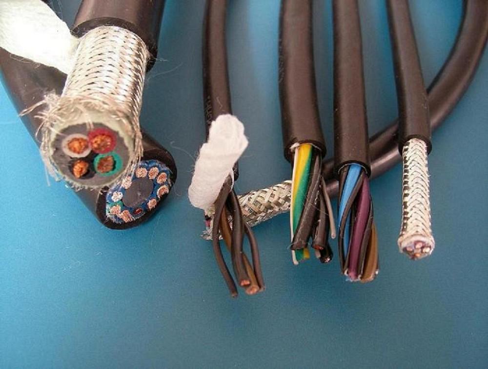 柔性本安铠装屏蔽耐高温电缆