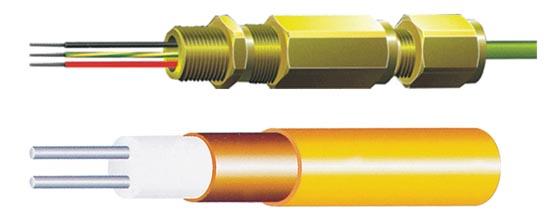 铠装伴热电缆 铠装加热电缆