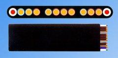 YVFBG卷筒用通讯扁平电缆(斗轮机电缆,堆取料机电缆)