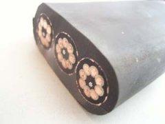橡套扁平软电缆(氯丁胶扁电缆)