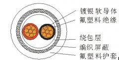AFPXR200热电阻专用高温电缆