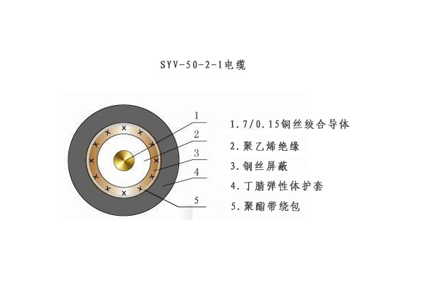 syv-50-2-1电缆结构图