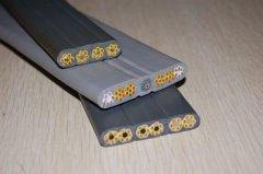 屏蔽电梯扁电缆