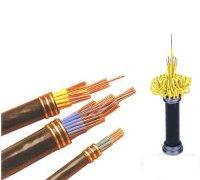 交联聚氟乙烯/聚烯烃绝缘阻燃电缆