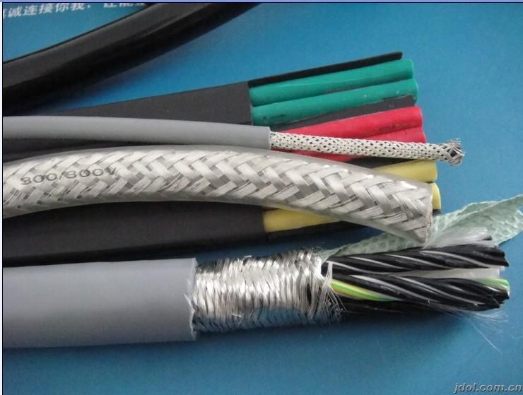 高柔性TPE绝缘 屏蔽伺服电机电缆