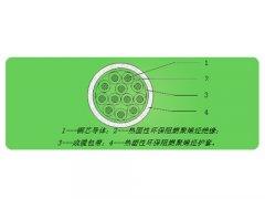 无卤低烟阻燃环保交联聚烯烃绝缘控制电缆