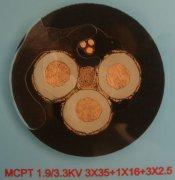 采煤机橡套软电缆(含采煤机屏蔽软电缆)