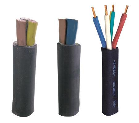 通用橡套软电缆型号规格及参数