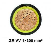 ZR-VV  1*300阻燃电力电缆