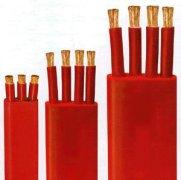 (ZR)-YGCB硅橡胶绝缘硅橡胶护套(阻燃)扁平电缆