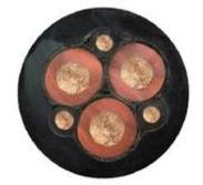 煤矿用电缆MYPT-6KV 3x35+3x16/3