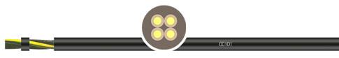 PVC外护套拖链系统控制电缆