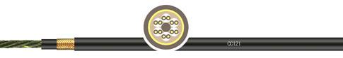 PVC甲胄式双层护套拖链系统对绞屏蔽控制电缆