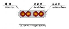 SYV+TVVB+2G组合式电梯电缆