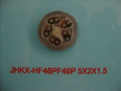 JHKX-HF46PF46P 5*2*1.5耐高温补偿导线