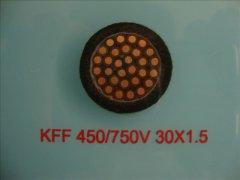 KFF 450/750KV 30*1.5 耐高温控制电缆