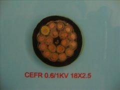 CEFR 0.6/1KV 18*2.5船用电缆