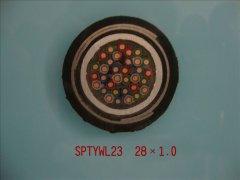 SPTYWL23 28*1.0 内屏蔽铁路数字信号电缆