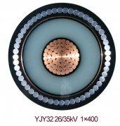YJV32 1*400 35KV高压电力电缆