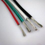 硅橡胶绝缘玻璃纤维编织铜芯高温线AGR,AGRP