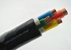 YJV22 3*120+1*70交联铠装电力电缆
