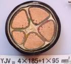 YJV22 4*185+1*95交联铠装电力电缆