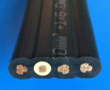 YVFRB,YVFRPB丁腈绝缘和护套电力软扁电缆,扁平软电缆