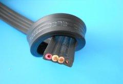YFFB-450/750V 4*10mm2行车扁电缆