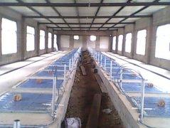 发热电缆用于养殖场保育室采暖安装示意图