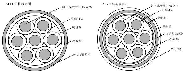 ZR-F46(FV),YVF-F46-22,YGC-F46(FG)高温F46耐腐电缆
