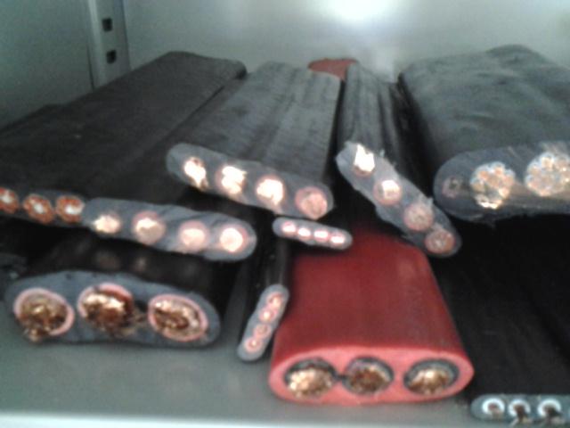 YBF阻燃耐高温移动扁平形橡套电缆