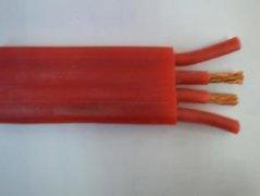 ZR-YGGRL高抗拉硅橡胶扁平电缆