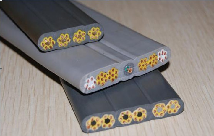 YVFBYVFBP 4*4,4*6,4*10耐低温起重机扁平电缆