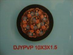DJYPVP 0.3/0.5KV 10*3*1.5计算机屏蔽电缆
