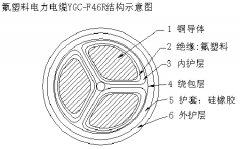 ZR-NH-F46(FV)氟塑料绝缘耐高温电力电缆