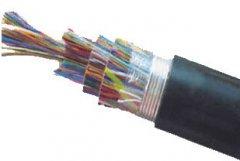 聚乙烯绝缘及护套市内通信电缆
