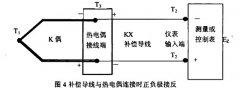 补偿电缆使用中的错误和产生的误差