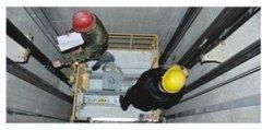 电梯井道固定安装电缆