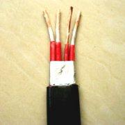 行车橡套扁电缆线