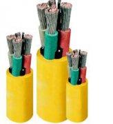 矿用橡套电缆 MYP-0.66/1.14 3X10+1X10mm2