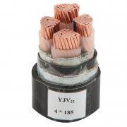 YVJ22 4*185钢带铠装电力电缆