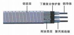 QYPF钢带铠装扁形潜油泵电力电缆