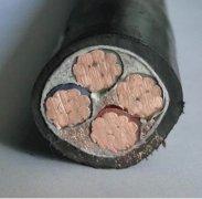 YJV 4*50 铜芯电力电缆 50平方电力电缆