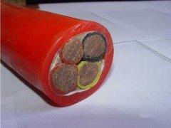 硅橡胶绝缘硅橡胶护套耐热软电缆