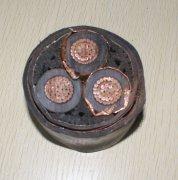 ZR-YJV22 3*400 高压铜芯钢带铠装电力电缆
