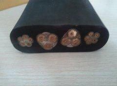 YFFB3*25+6*6.0 起重机柔性专用扁电缆 行车耐油耐弯曲扁电缆
