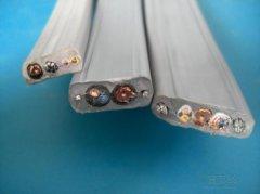 YKVFBG 19×1.0+2×1.0P+6FO+2×4移动设备用通讯扁平电缆